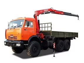 манипулятор с грузоподъемностью до 12 тонн подходит для погрузки и перевозки тяжелых грузов по Ляховичах